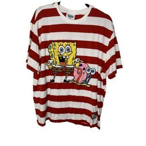 Nickelodeon Spongebob Squarepants Striped T-Shirt